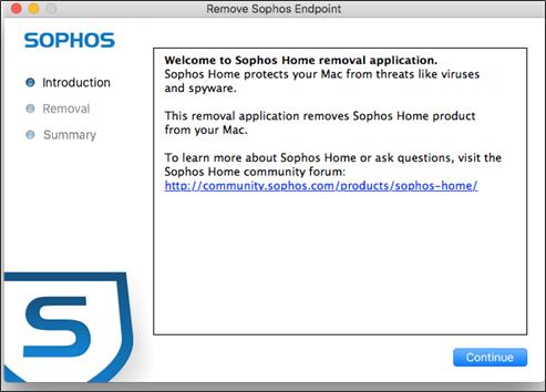 Uninstalling Sophos Home on Mac computers – Sophos Home Help