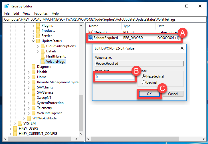 Unable to install Sophos Home due to a pending reboot – Sophos Home Help